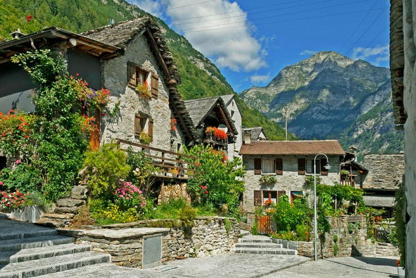 купить домик в швейцарии