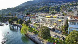 Отдых Швейцарский городе Локарно