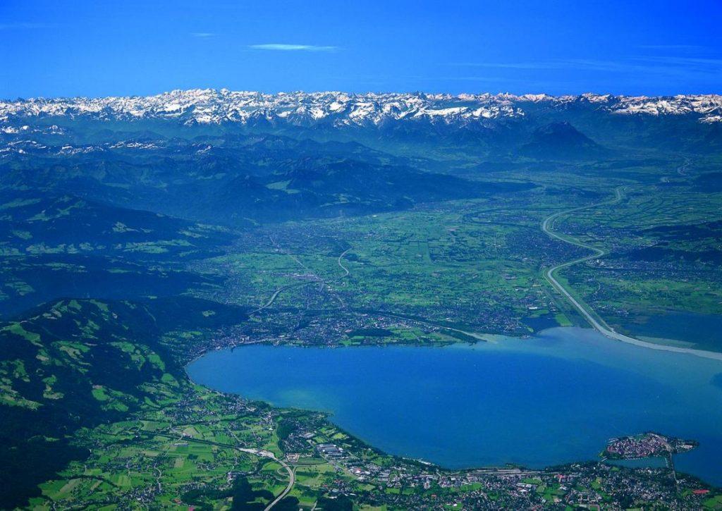 Боденское озеро: координаты и фото, что посмотреть и где находится Боденское озеро