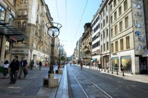 улица Rue du Rhone